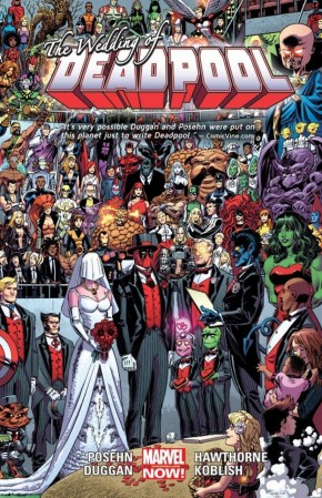 DEADPOOL VOLUME 5 THE WEDDING OF DEADPOOL GRAPHIC NOVEL