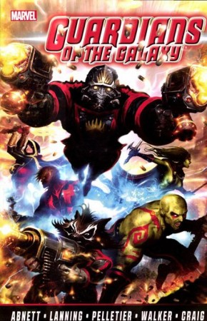 GUARDIANS OF THE GALAXY BY ABNETT AND LANNING THE COMPLETE COLLECTION VOLUME 1 GRAPHIC NOVEL