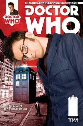 DOCTOR WHO 10TH DOCTOR #1 (2014 SERIES) 1 IN 10 INCENTIVE VARIANT