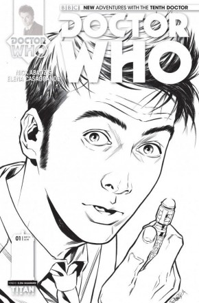 DOCTOR WHO 10TH DOCTOR #1 (2014 SERIES) 1 IN 25 INCENTIVE VARIANT