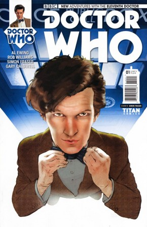 DOCTOR WHO 11TH DOCTOR #1 SUBSCRIPTION COVER
