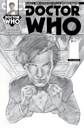 DOCTOR WHO 11th DOCTOR #1 (1 IN 25 INCENTIVE VARIANT)
