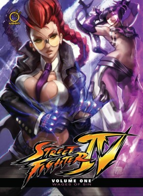 STREET FIGHTER IV VOLUME 1 WAGES OF SIN HARDCOVER