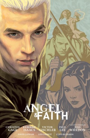 ANGEL AND FAITH SEASON 9 VOLUME 2 LIBRARY EDITION HARDCOVER