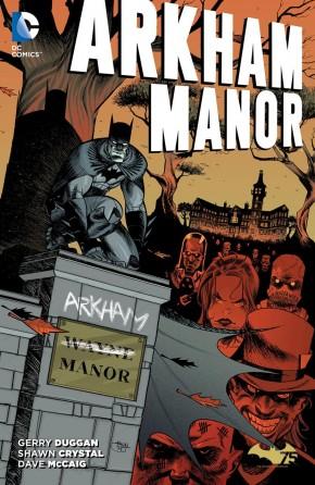 ARKHAM MANOR VOLUME 1 GRAPHIC NOVEL