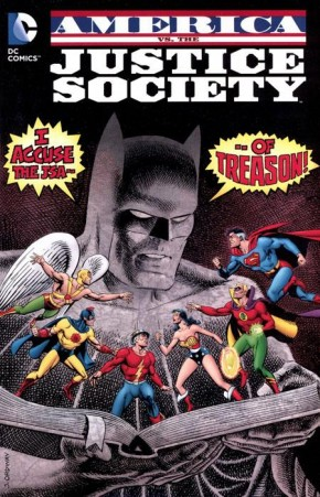 AMERICA VS THE JUSTICE SOCIETY OF AMERICA GRAPHIC NOVEL
