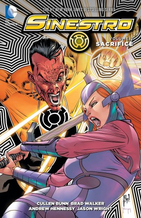 SINESTRO VOLUME 2 SACRIFICE GRAPHIC NOVEL