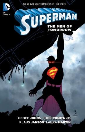 SUPERMAN VOLUME 6 THE MEN OF TOMORROW HARDCOVER