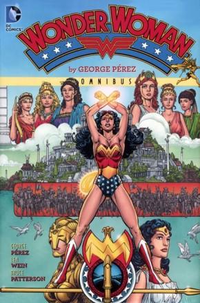 WONDER WOMAN BY GEORGE PEREZ OMNIBUS VOLUME 1 HARDCOVER