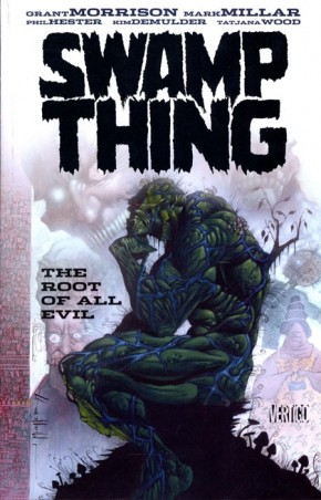 SWAMP THING THE ROOT OF ALL EVIL GRAPHIC NOVEL