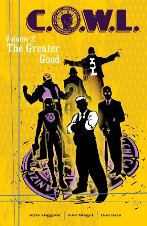 COWL VOLUME 2 THE GREATER GOOD GRAPHIC NOVEL