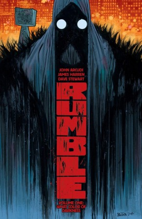 RUMBLE VOLUME 1 WHAT COLOR OF DARKNESS GRAPHIC NOVEL