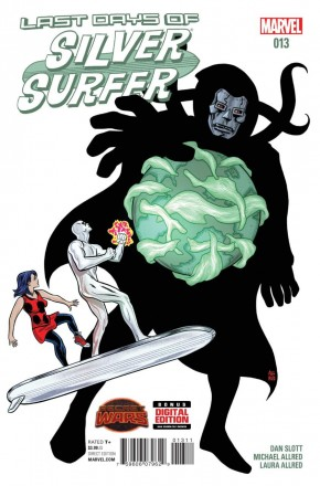 SILVER SURFER #13 (2014 SERIES)