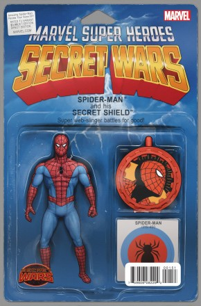 AMAZING SPIDER-MAN RENEW YOUR VOWS #1 (2015 SERIES) ACTION FIGURE VARIANT