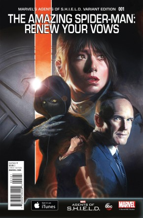 AMAZING SPIDER-MAN RENEW YOUR VOWS #1 (2015 SERIES) 1 IN 15 AGENTS OF SHIELD INCENTIVE