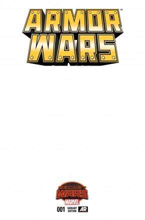 ARMOR WARS #1 BLANK VARIANT