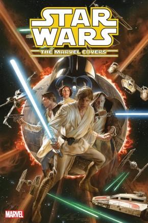 STAR WARS MARVEL COVERS VOLUME 1 HARDCOVER