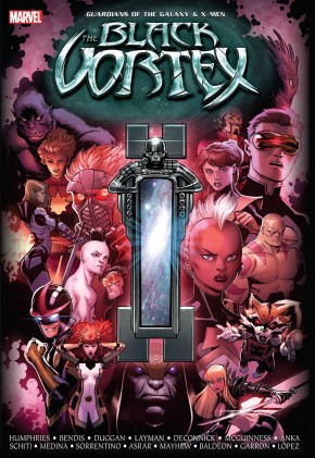 GUARDIANS OF THE GALAXY AND THE X-MEN BLACK VORTEX HARDCOVER