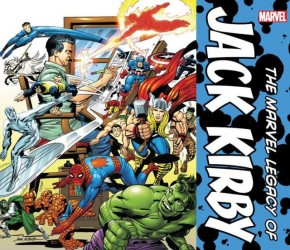 MARVEL LEGACY OF JACK KIRBY SLIPCASE HARDCOVER
