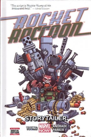 ROCKET RACCOON VOLUME 2 STORYTAILER HARDCOVER