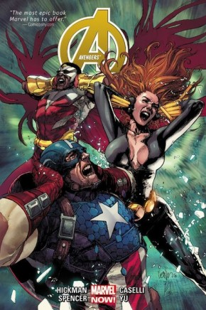 AVENGERS BY JONATHAN HICKMAN VOLUME 2 HARDCOVER