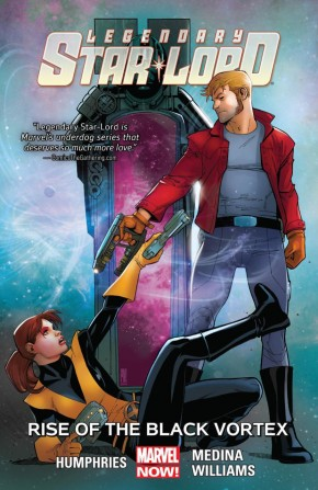 LEGENDARY STAR-LORD VOLUME 2 RISE OF THE BLACK VORTEX GRAPHIC NOVEL