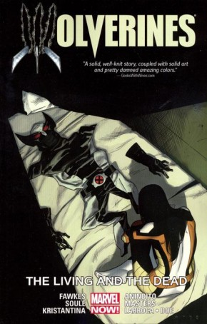 WOLVERINES VOLUME 3 LIVING AND THE DEAD GRAPHIC NOVEL