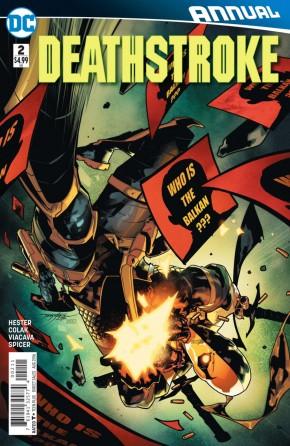 Deathstroke Volume 3 Annual #2