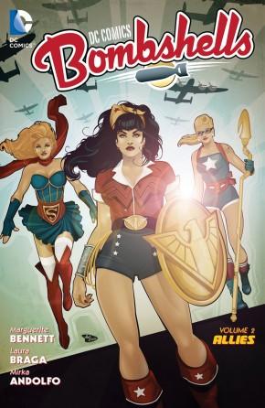 DC COMICS BOMBSHELLS VOLUME 2 ALLIES GRAPHIC NOVEL