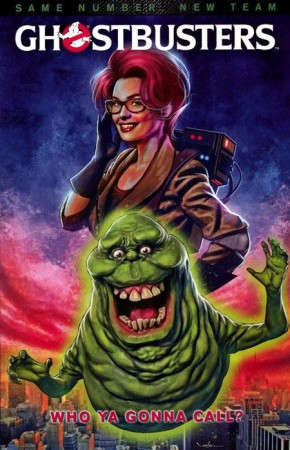GHOSTBUSTERS VOLUME 4 WHO YA GONNA CALL GRAPHIC NOVEL (NEW EDITION)