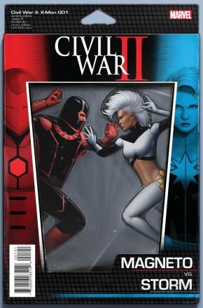 CIVIL WAR II X-MEN #1 ACTION FIGURE VARIANT
