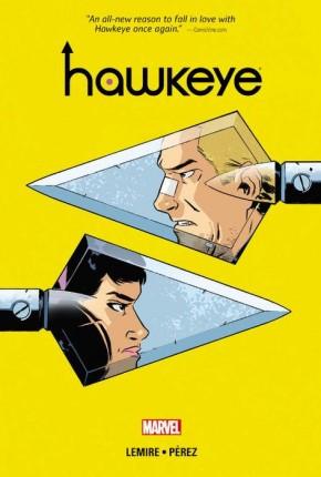 HAWKEYE VOLUME 3 DELUXE EDITION HARDCOVER
