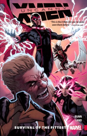 UNCANNY X-MEN SUPERIOR VOLUME 1 SURVIVAL OF THE FITTEST GRAPHIC NOVEL