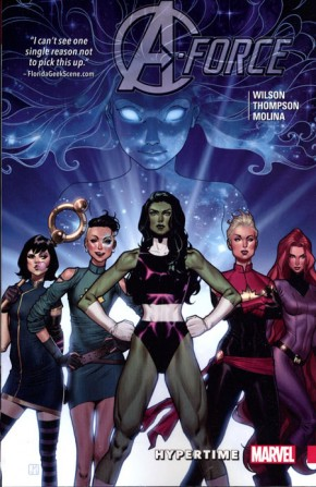 A-FORCE VOLUME 1 HYPERTIME GRAPHIC NOVEL