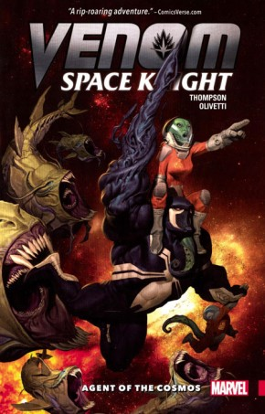 VENOM SPACE KNIGHT VOLUME 1 AGENT OF THE COSMOS GRAPHIC NOVEL