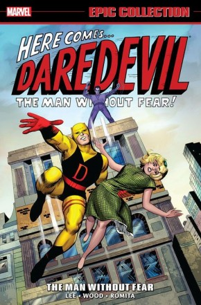 DAREDEVIL EPIC COLLECTION THE MAN WITHOUT FEAR GRAPHIC NOVEL