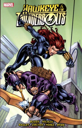HAWKEYE AND THE THUNDERBOLTS VOLUME 2 GRAPHIC NOVEL
