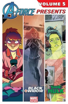 A-FORCE PRESENTS VOLUME 5 GRAPHIC NOVEL