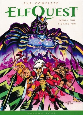 THE COMPLETE ELFQUEST VOLUME 4 GRAPHIC NOVEL