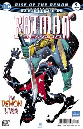 BATMAN BEYOND #9 (2016 SERIES)