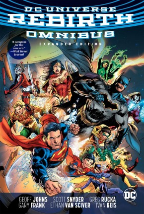 DC UNIVERSE REBIRTH OMNIBUS EXPANDED EDITION HARDCOVER