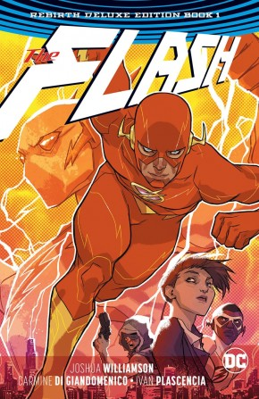 FLASH REBIRTH DELUXE COLLECTION BOOK 1 HARDCOVER