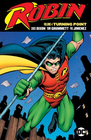 ROBIN VOLUME 4 TURNING POINT GRAPHIC NOVEL