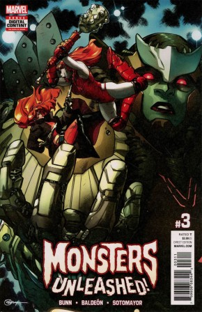MONSTERS UNLEASHED #3 (2017 SERIES)