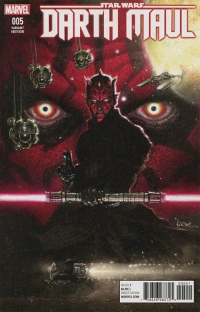 STAR WARS DARTH MAUL #5 ANDREWS 1 IN 25 INCENTIVE VARIANT