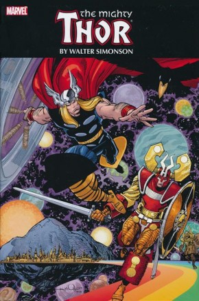 THOR BY WALTER SIMONSON OMNIBUS HARDCOVER