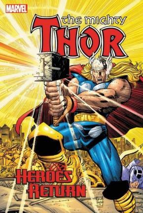 THOR HEROES RETURN OMNIBUS VOLUME 1 HARDCOVER