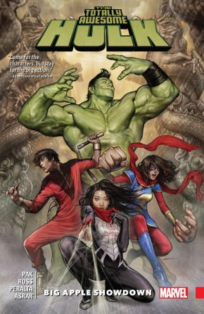 TOTALLY AWESOME HULK VOLUME 3 BIG APPLE SHOWDOWN GRAPHIC NOVEL