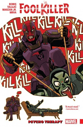 FOOLKILLER VOLUME 1 PSYCHO THERAPY GRAPHIC NOVEL