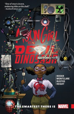 MOON GIRL AND DEVIL DINOSAUR VOLUME 3 THE SMARTEST THERE IS GRAPHIC NOVEL